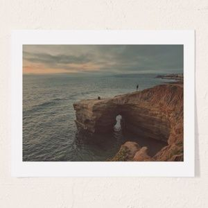 Other - Myan Soffia Sunset Cliffs Art Print UO 30X40""